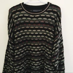 Vintage | Chunky Knit Oversized Grandpa Sweater